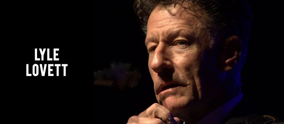 Lyle Lovett at Gaillard Center