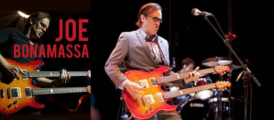 Joe Bonamassa at Gaillard Center