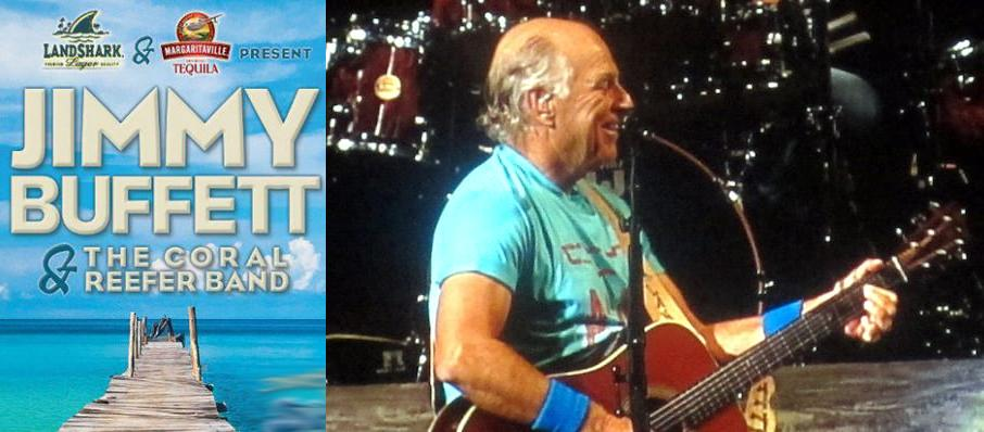 Jimmy Buffett at North Charleston Coliseum