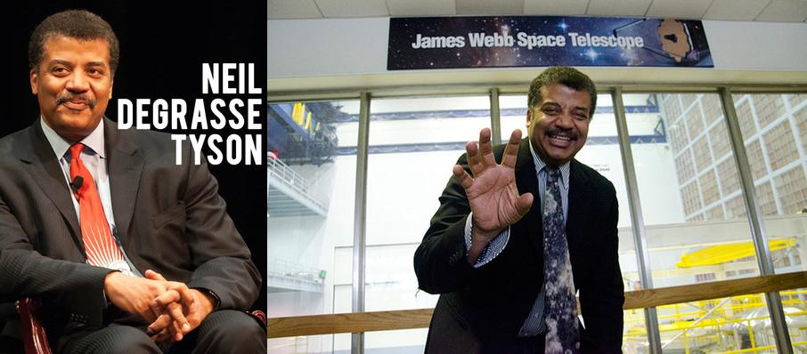Neil DeGrasse Tyson at North Charleston Performing Arts Center