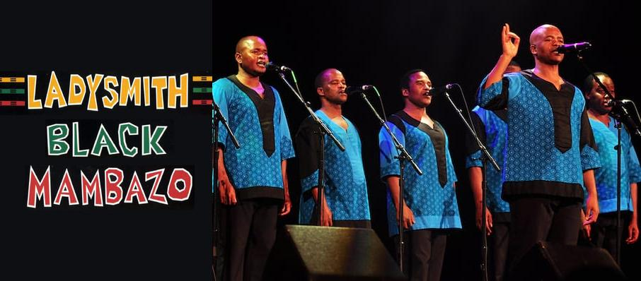 Ladysmith Black Mambazo at Charleston Music Hall