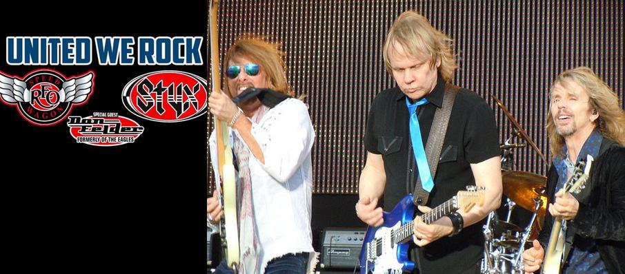 Styx with REO Speedwagon at North Charleston Coliseum
