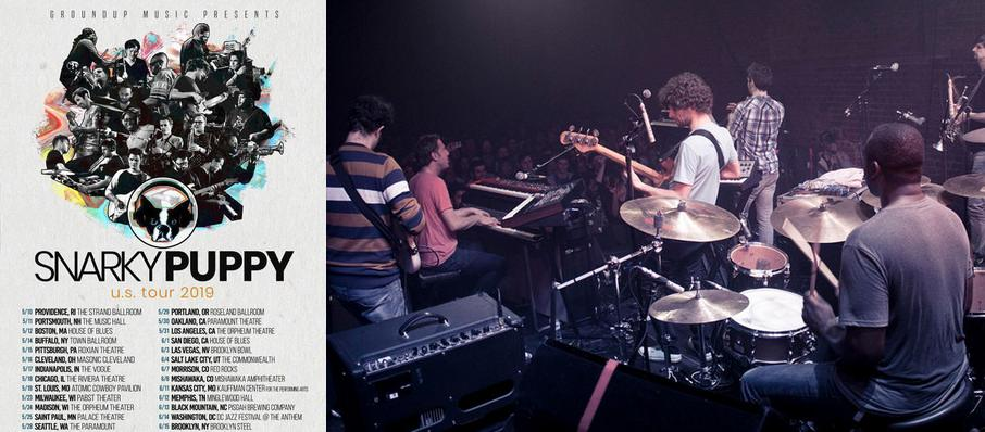 Snarky Puppy at Music Farm