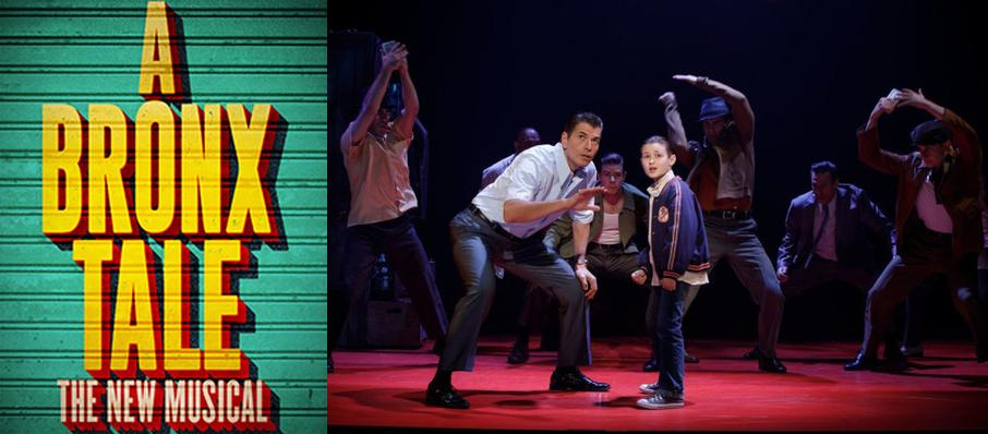 A Bronx Tale at North Charleston Performing Arts Center