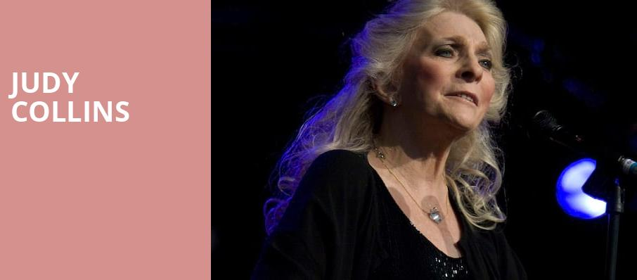Judy Collins, Charleston Music Hall, North Charleston