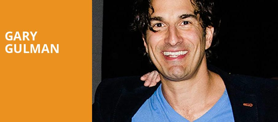 Gary Gulman, Charleston Music Hall, North Charleston