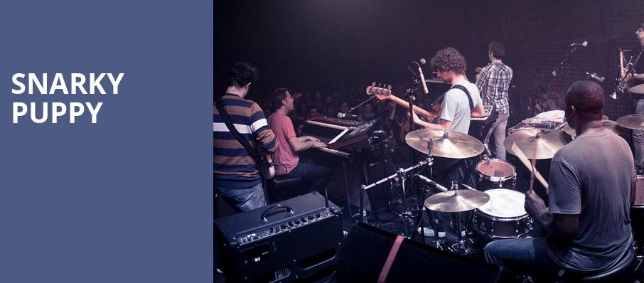 Snarky Puppy, Music Farm, North Charleston