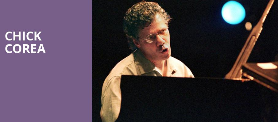 Chick Corea, Gaillard Center, North Charleston