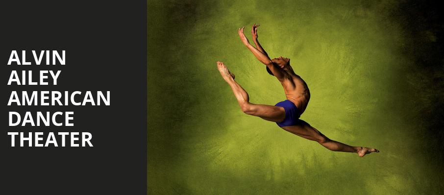 Alvin Ailey American Dance Theater, Gaillard Center, North Charleston