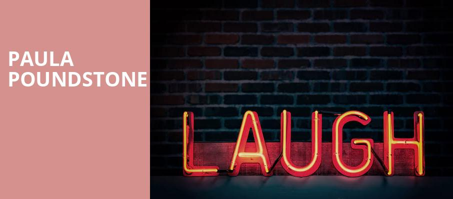 Paula Poundstone, Charleston Music Hall, North Charleston